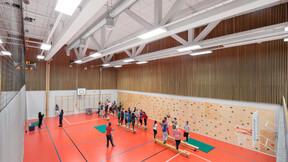 Frydenberg Skole, Multiflex Baffle, Tropic A-edge, Samson HAT, Industrial 50, education, sports